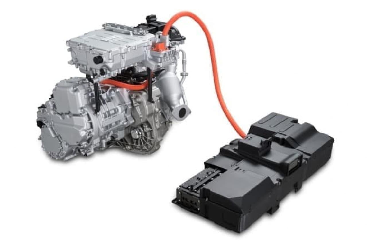 エンジンは発電だけ