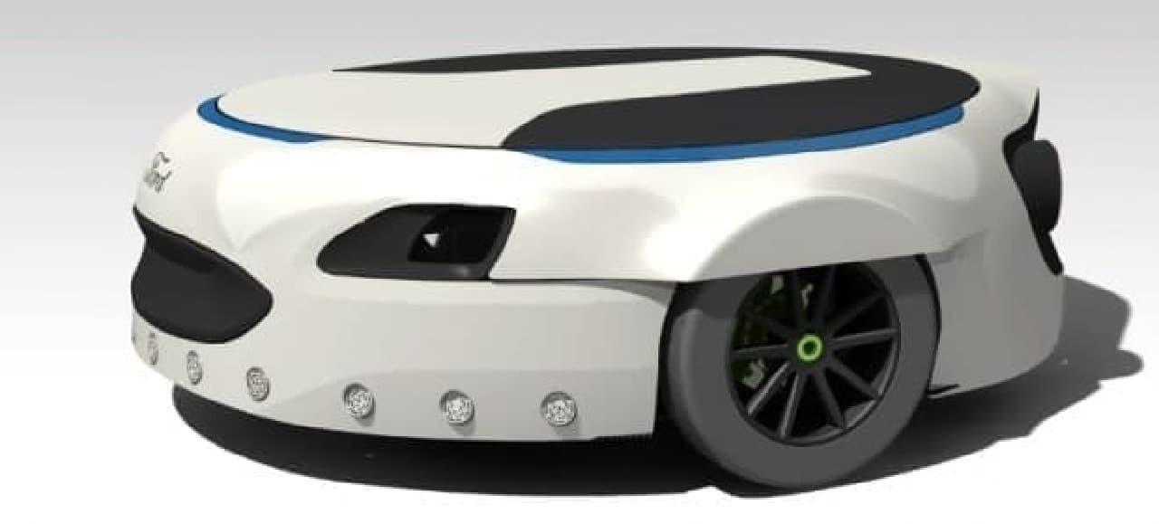 フォードによるラストマイルビークル「Carr-E」