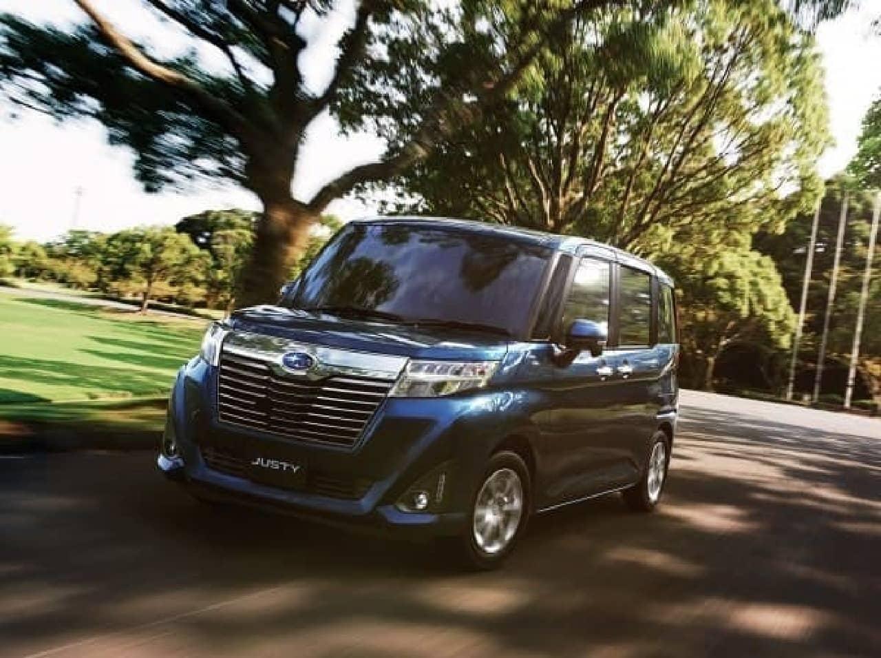 スバル 新型「ジャスティ」を11月21日に発売