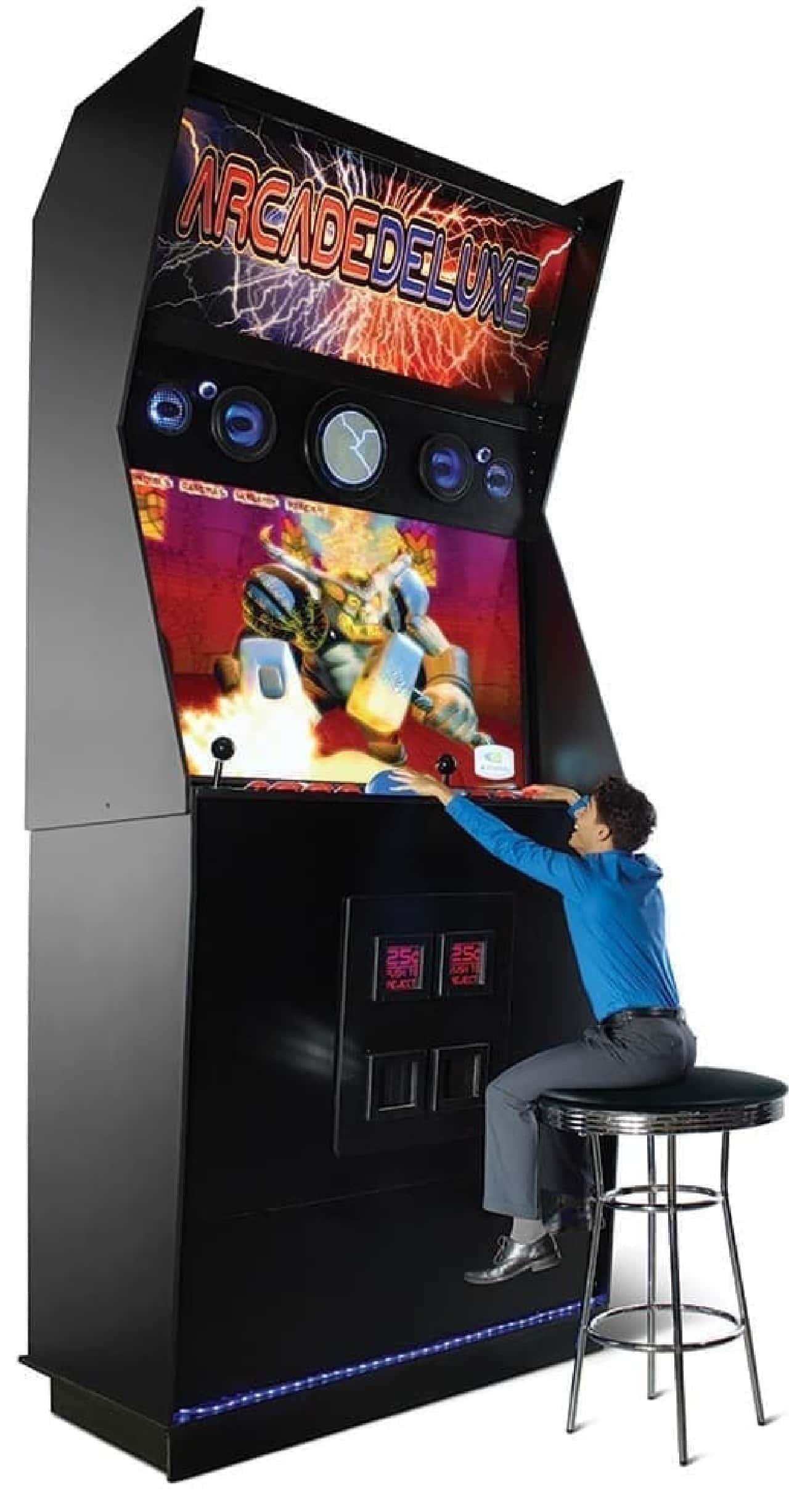 世界最大のゲームマシン、原寸大レプリカ販売中