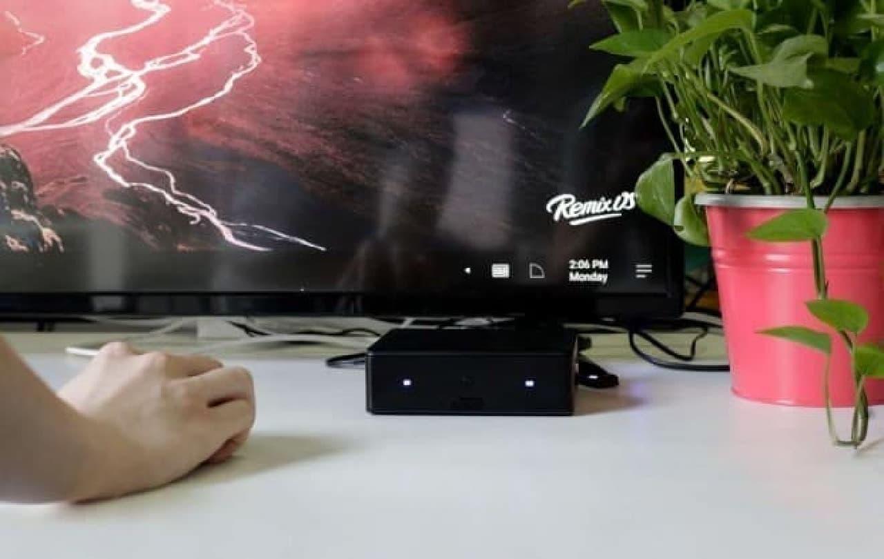 デスクトップPCもAndroidの時代に…動画サービスやゲームに特化した「Remix IO」