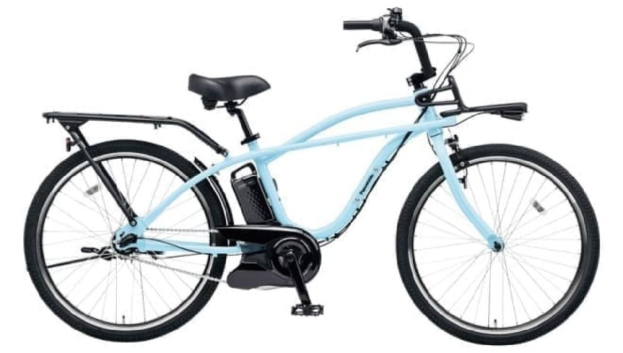 ビーチクルーザーをイメージした電動アシスト自転車「BP02」