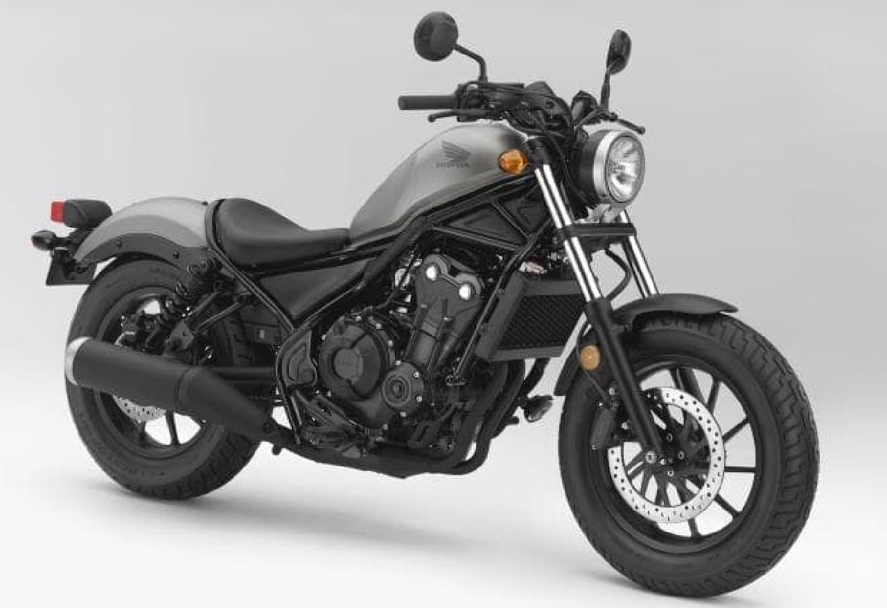 本田、米国で新型クルーザーモデル「Rebel 500」「Rebel 300」を発表