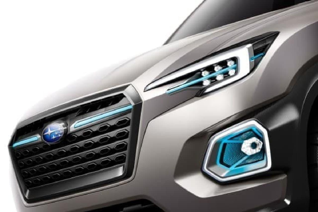 スバル、「VIZIV-7 SUV CONCEPT」を2016年LAオートショーで公開