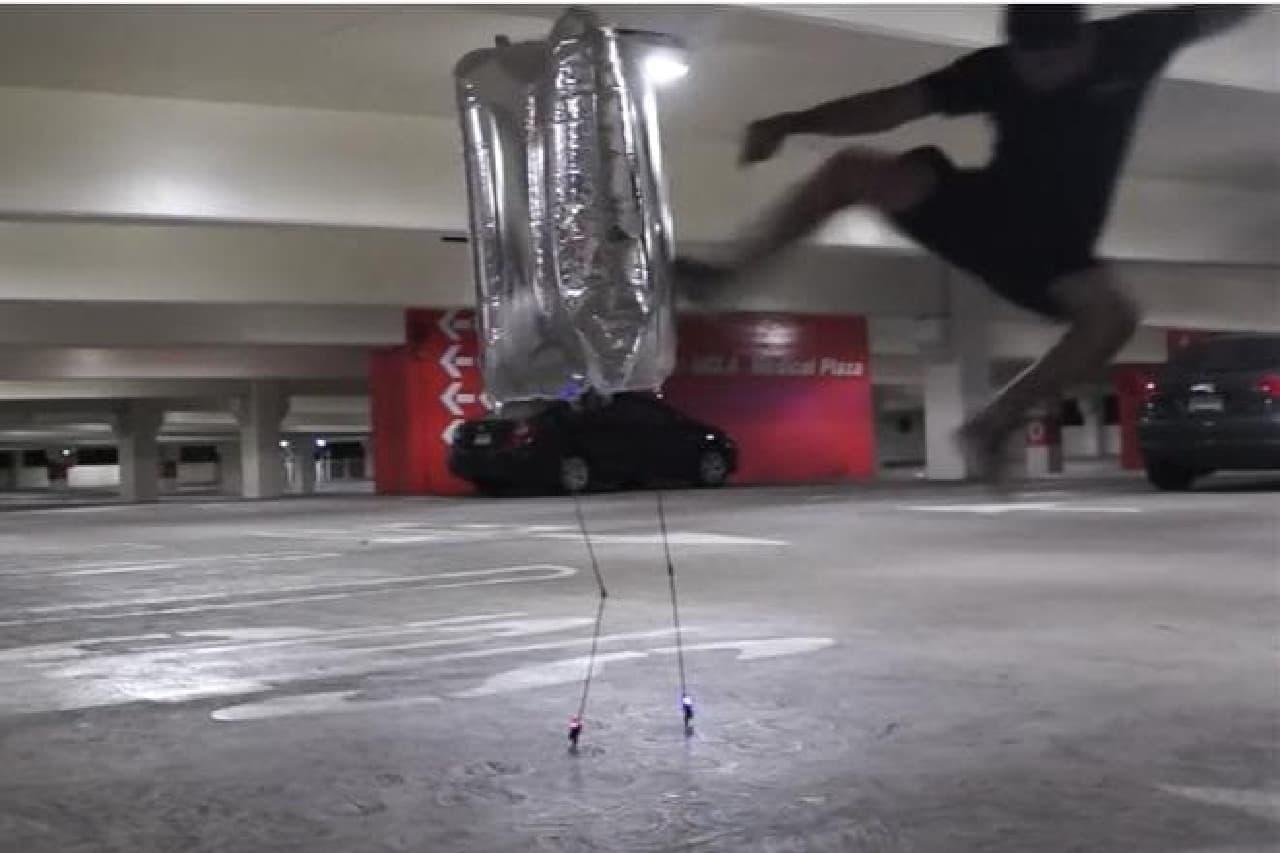ロボットBALLUのデモ画像