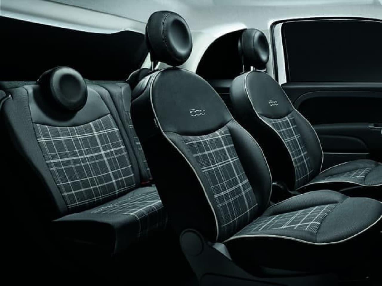 ビーツのオーディオを装備! チェックシートでおしゃれなチンク「Fiat 500 Scacco」