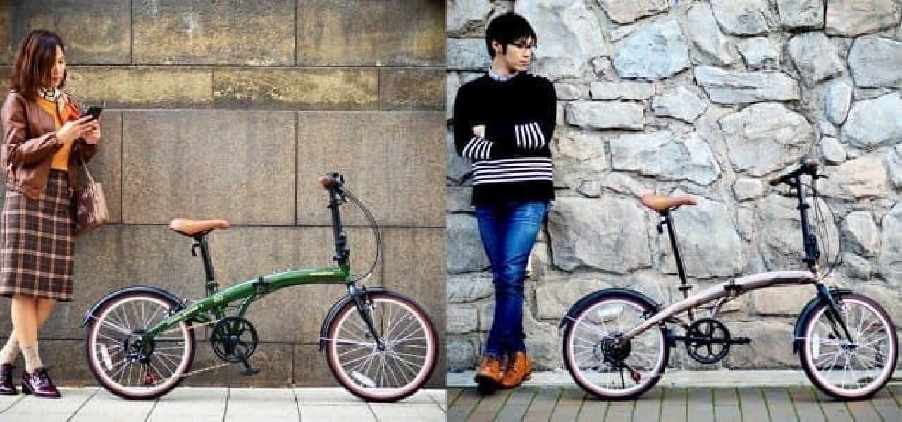 クルマで持ち運びやすい自転車「250 Promenade(プロムナード)」