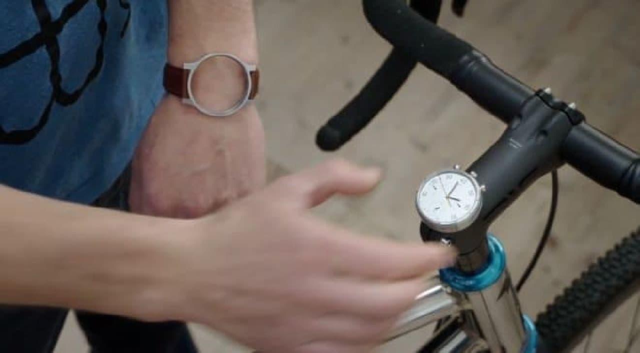 腕時計としても使えるサイコン「MOSKITO」