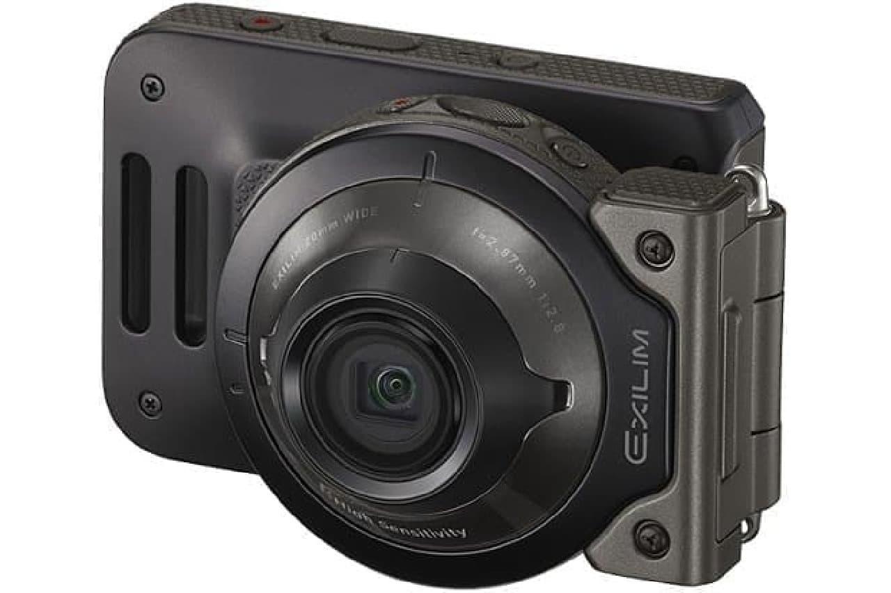デジタルビデオカメラ「Outdoor Recorder(アウトドアレコーダー)EX-FR110H」