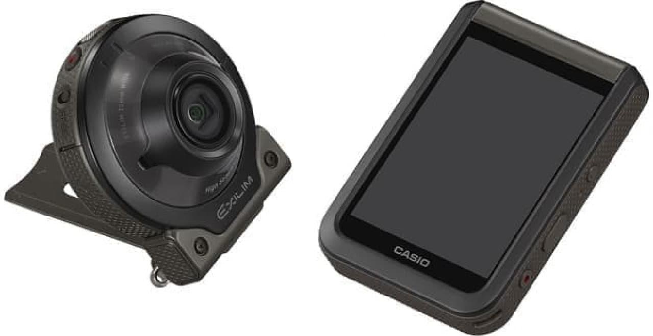 カメラとコントローラーが分離する形状