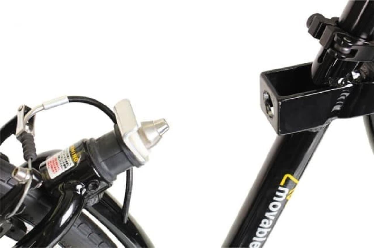 自転車通勤者のための折りたたみクロスバイク「OFFICE PRESS MOVABLE」