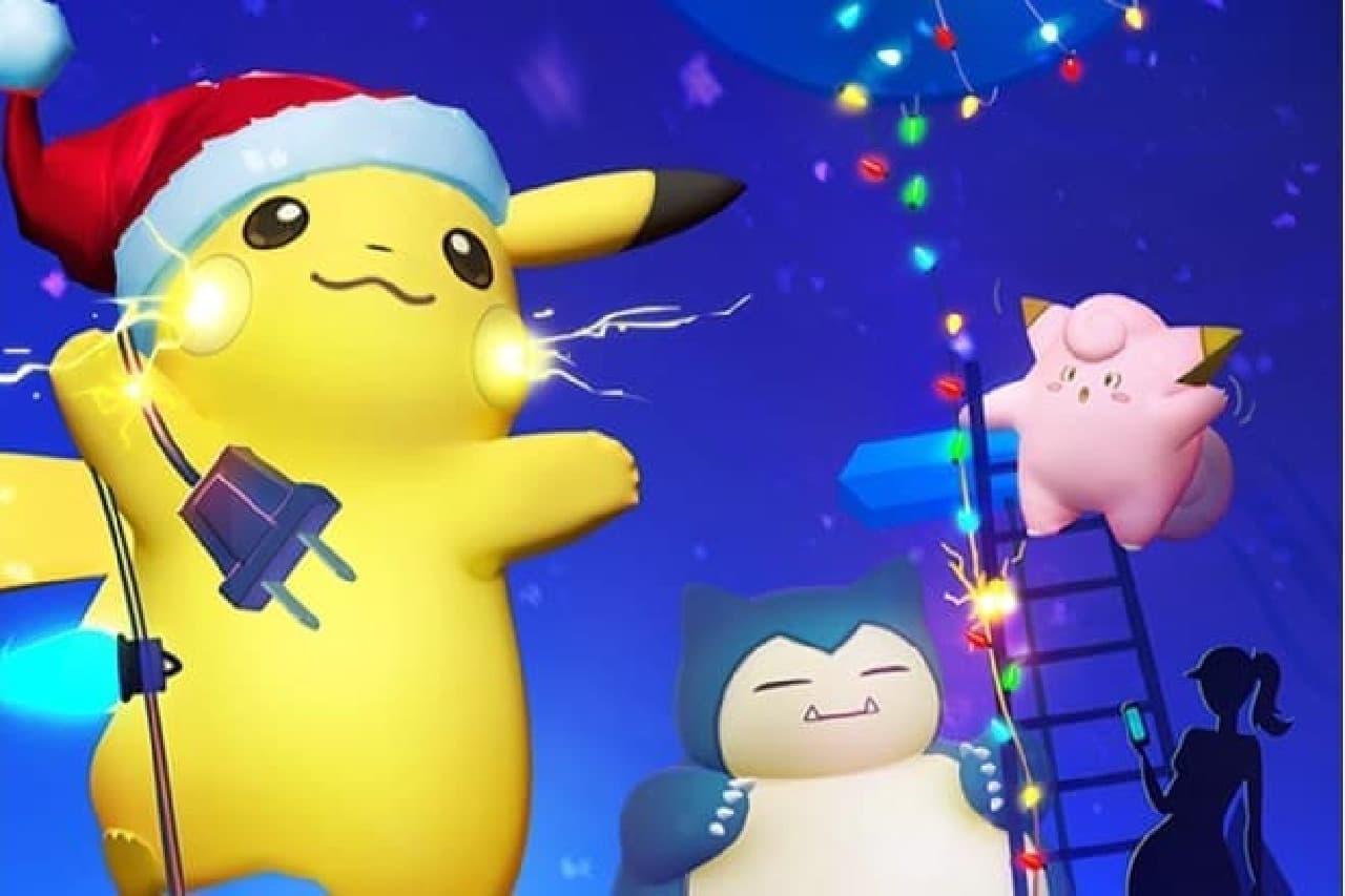 ポケモンGOのクリスマス