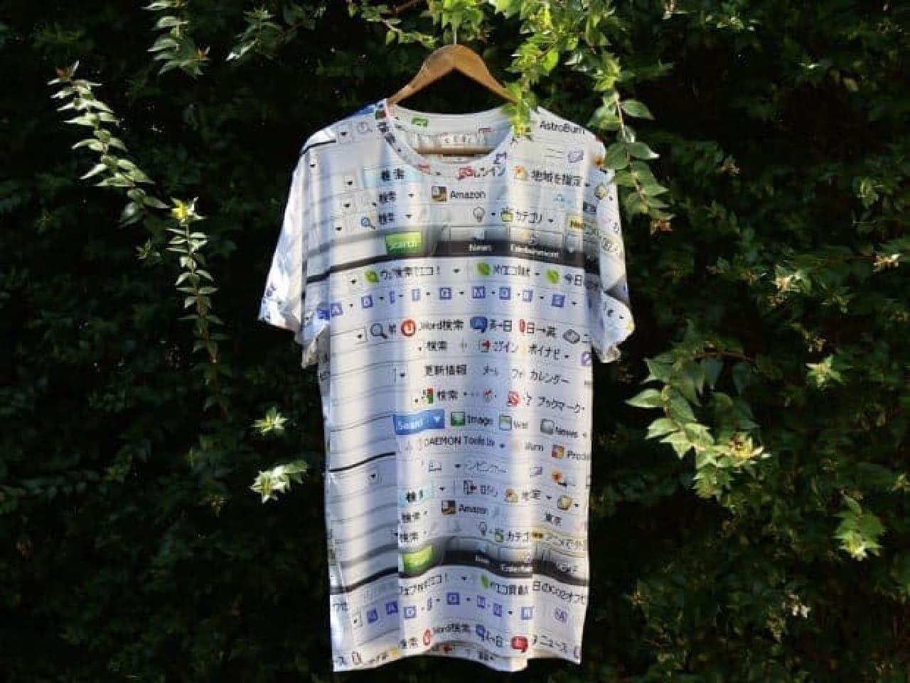 IE6Tシャツの画像
