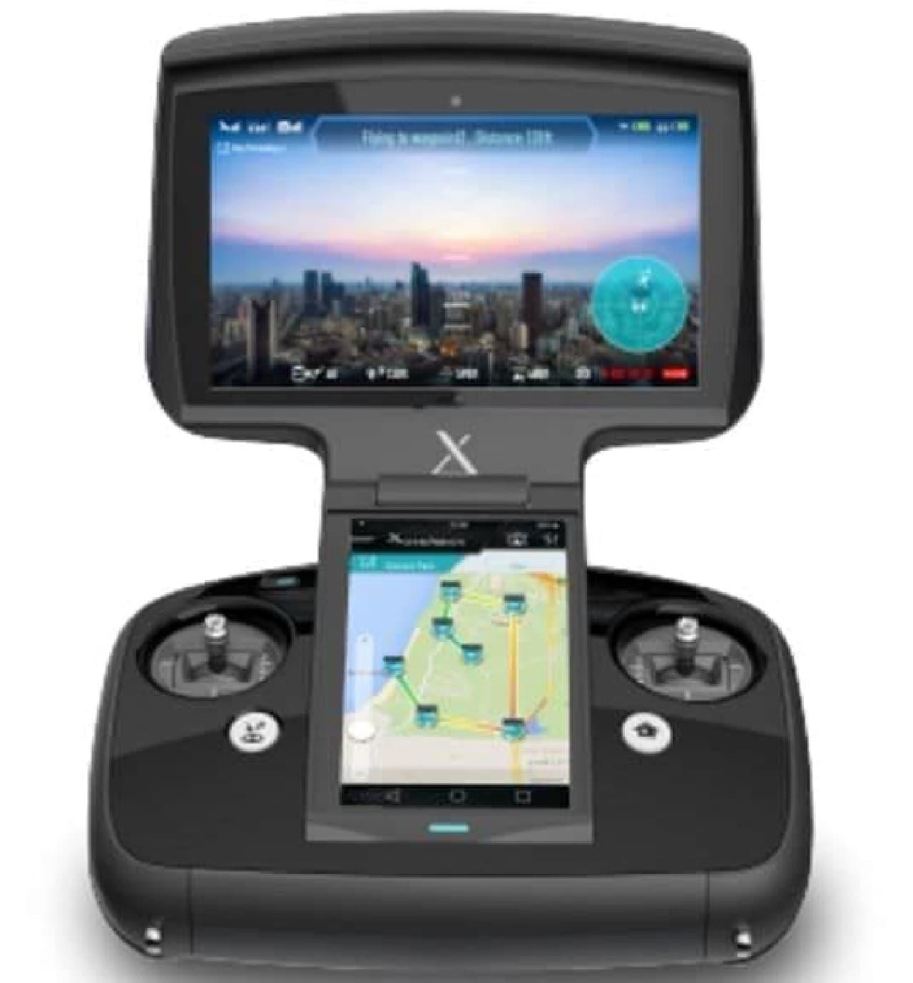 ニンテンドーDSのように2画面を持つ、XDynamicsの新型ドローン「Evolve」