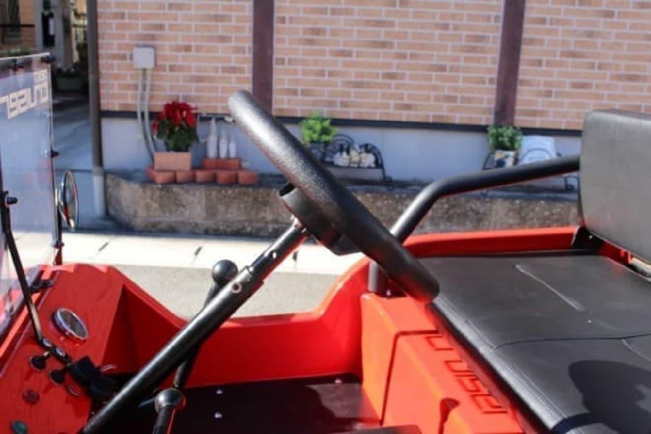 クルマに乗せて運べる四輪ミニカー「next cruiser」、モデルチェンジ