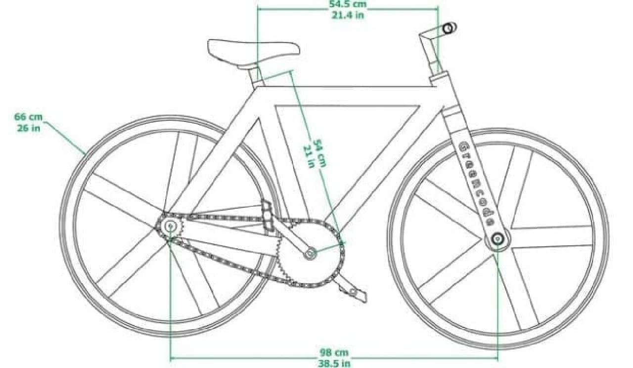 エコな自転車「URBAN GC1」