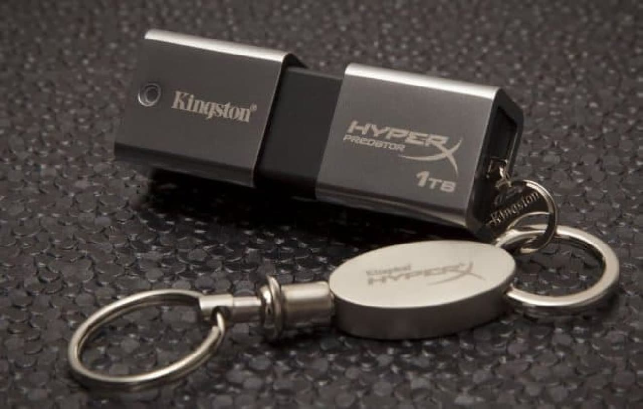 Kingstonが「DataTraveler Ultimate Generation Terabyte」を発表