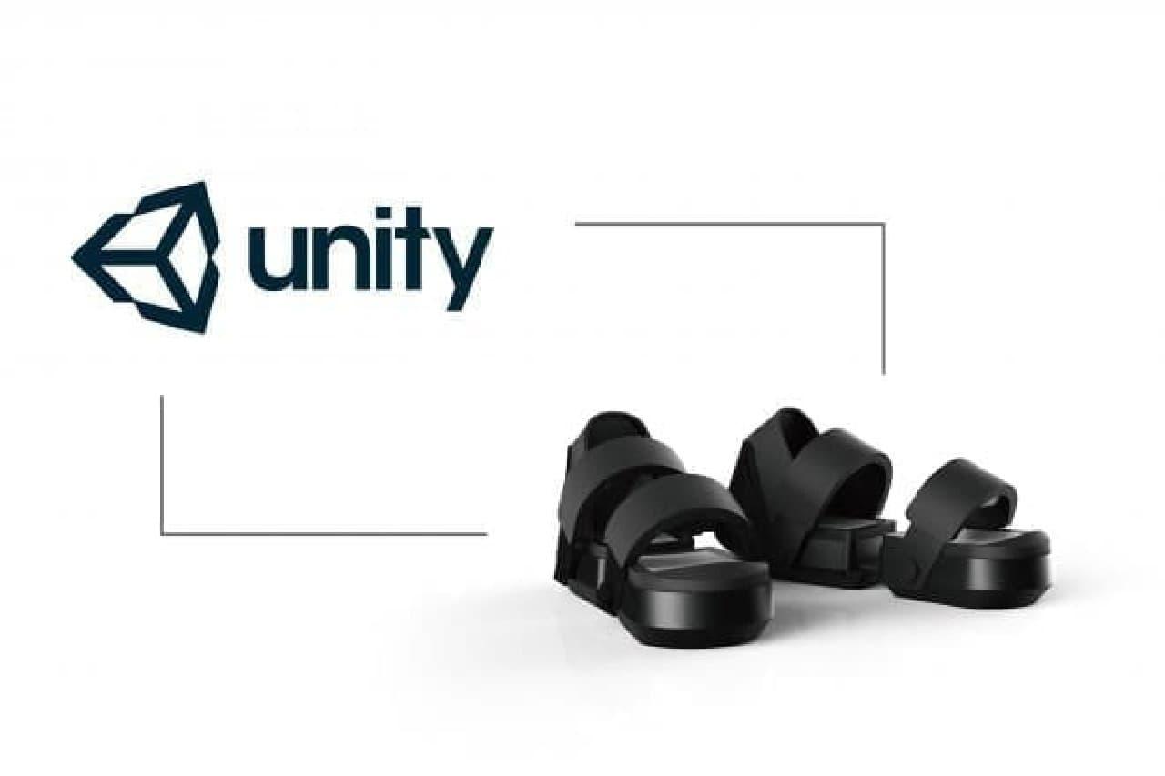 Unityプラグインに対応したVRシューズ