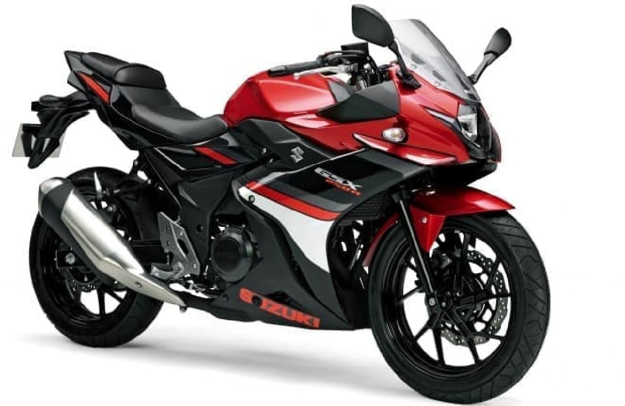 250ccの新型ロードスポーツバイク、スズキ「GSX250R」