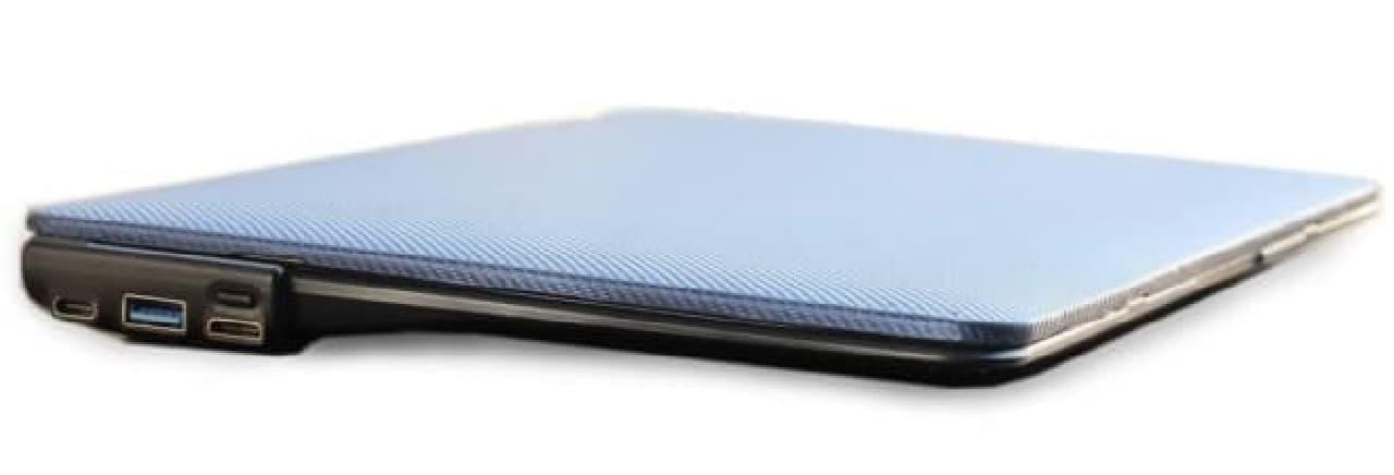 HDMIポートやSDカードポートを追加するMacBookカバー「Boost」