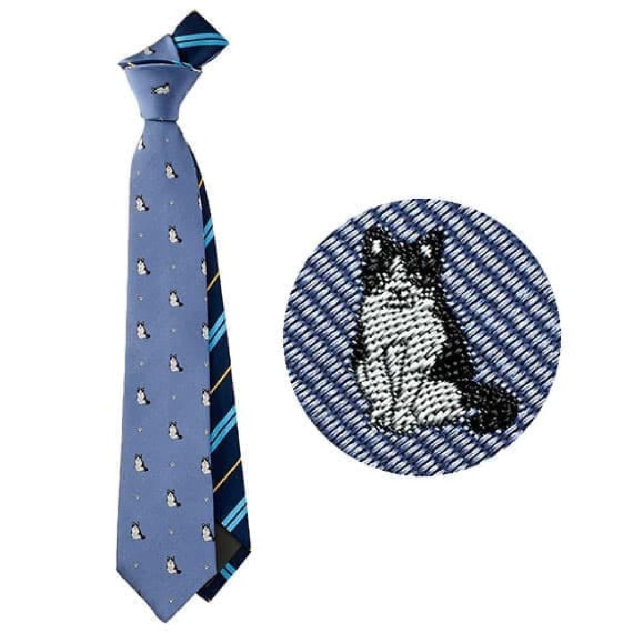 ネコ好きのネクタイ、フェリシモ猫部から