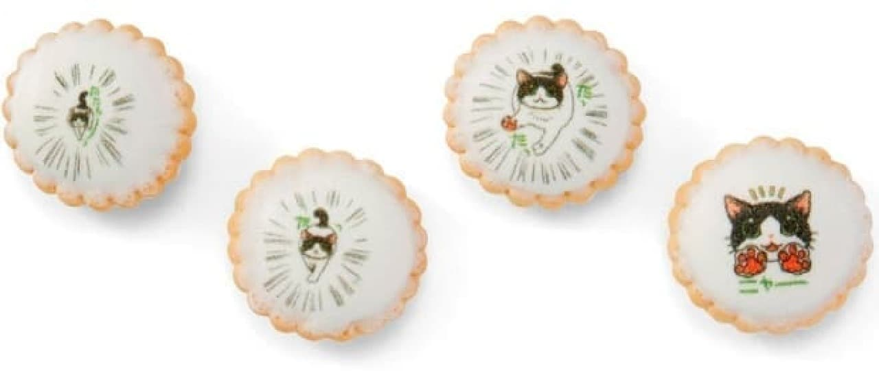 「猫あるある 4コマにゃん画ビスケット」、フェリシモ猫部から