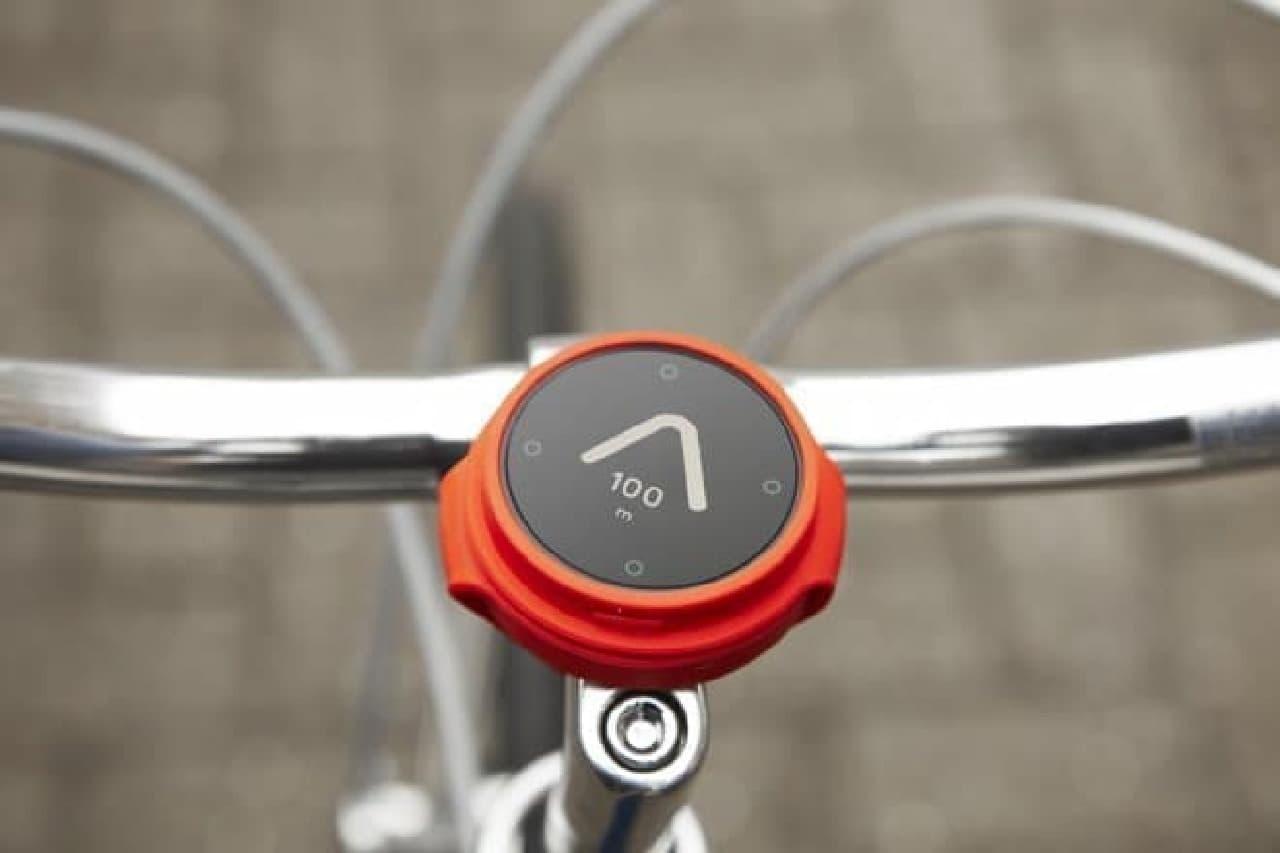 ざっくりした自転車用ナビ「Beeline」