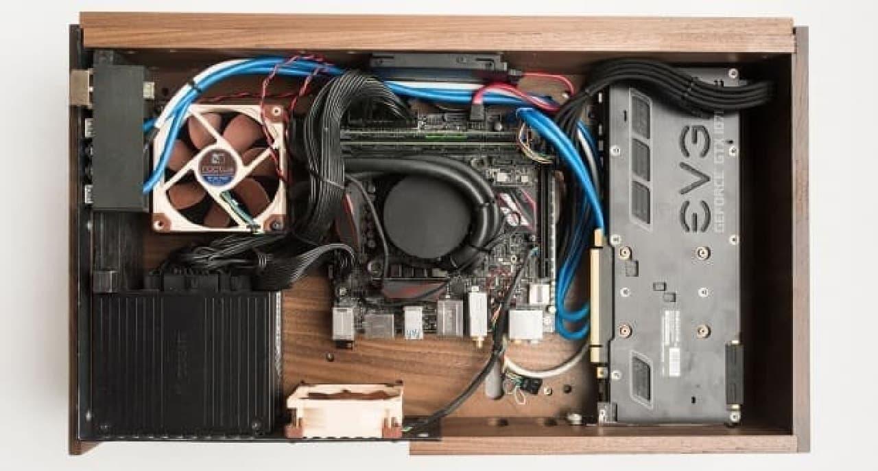木製パソコン「Volta V」