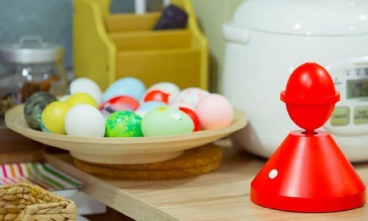 「スクランブルゆで玉子」を、ボタン一つで作れる「Orbi」