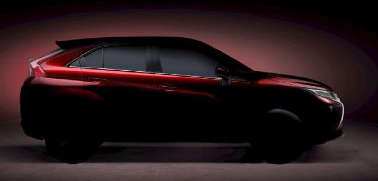 三菱の新型コンパクトSUV、ジュネーブ国際モーターショーで公開へ