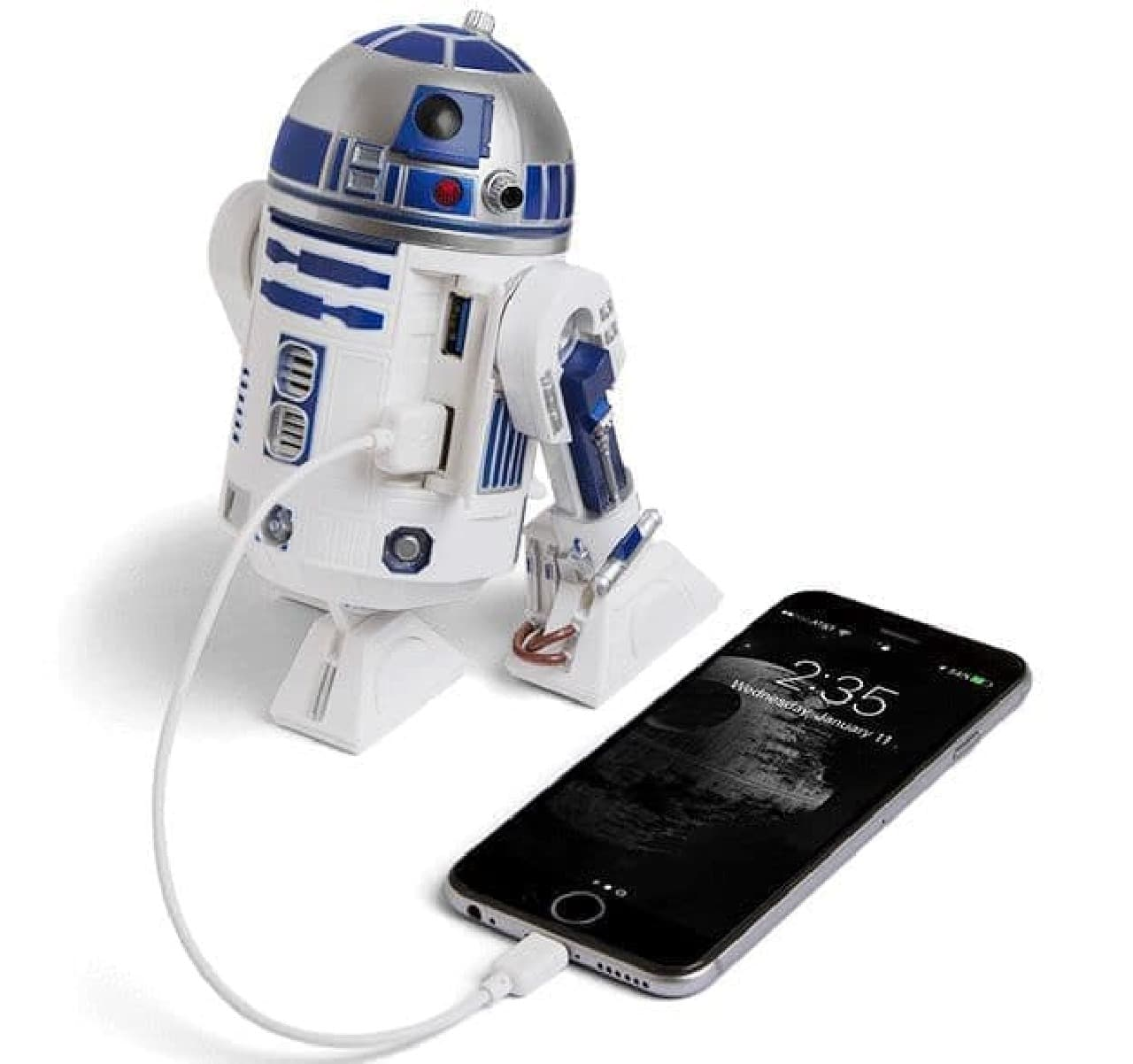 R2-D2型のUSB 3.0ハブはいかが?…「R2-D2 USB 3.0 Charging Hub」