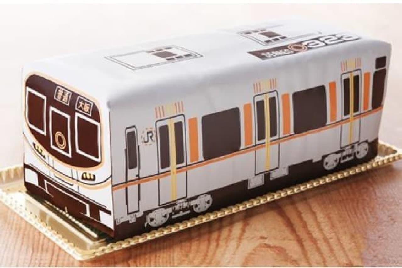 大阪環状線ケーキ323系