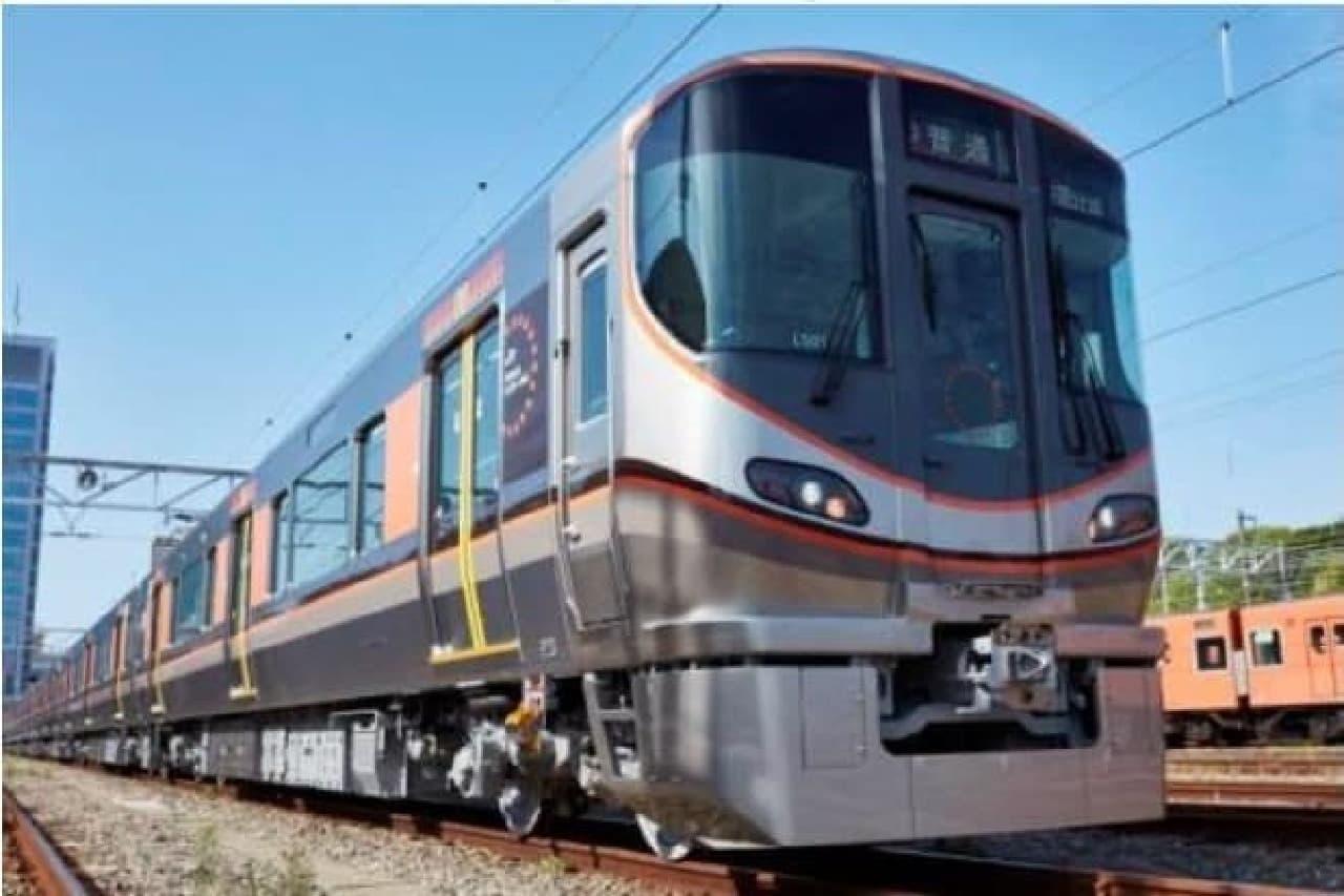 大阪環状線323系のイメージ