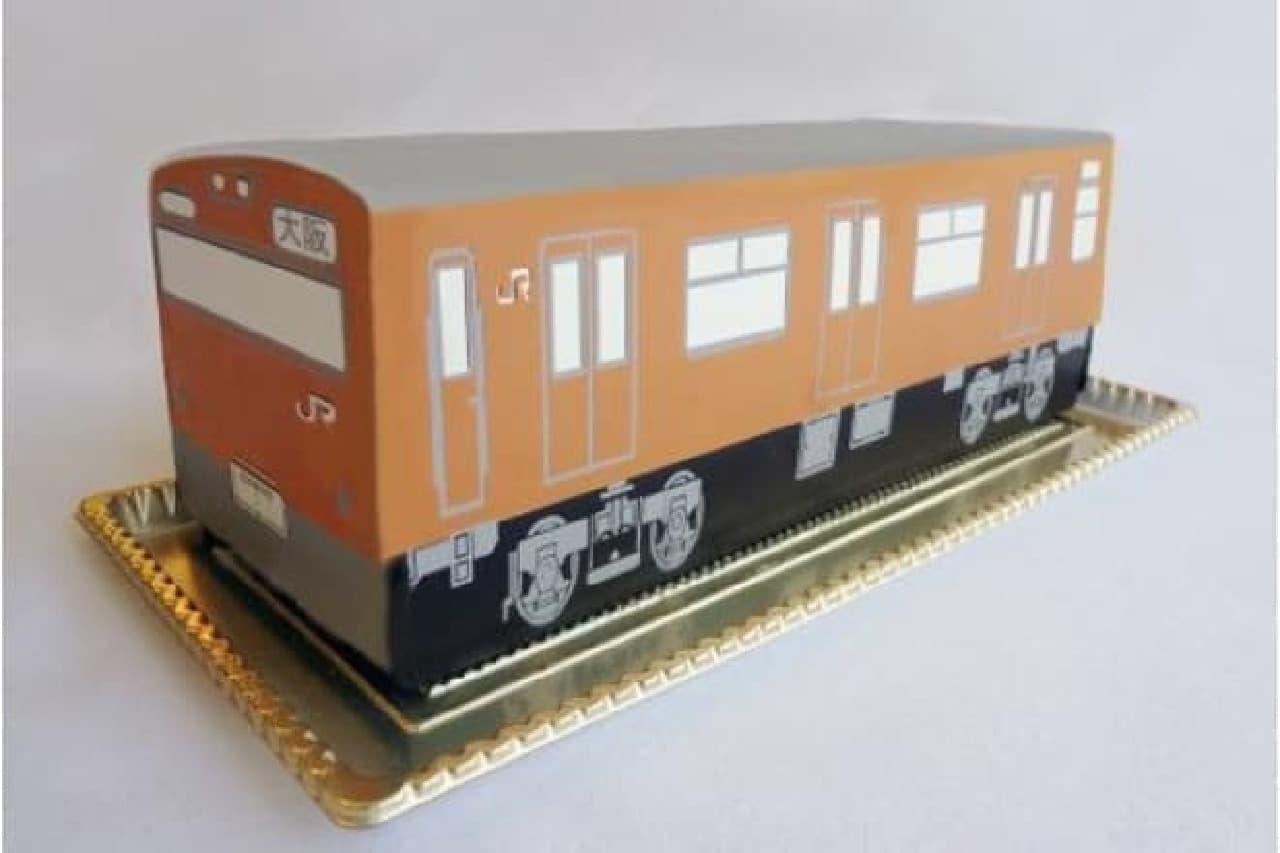 103系大阪環状線ケーキ
