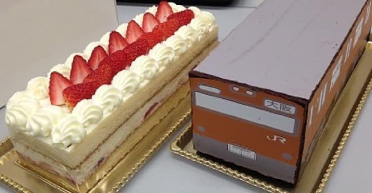 103系ケーキの中身