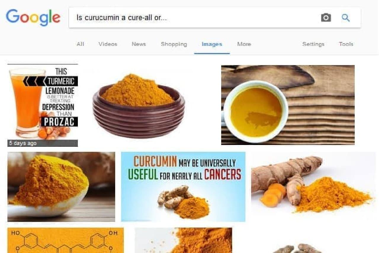 クルクミンの検索結果