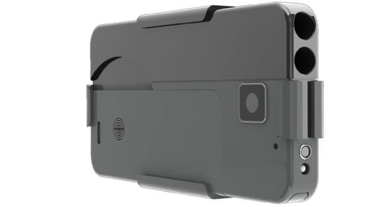 iPhoneそっくりのピストル「Ideal Conceal Pistol」