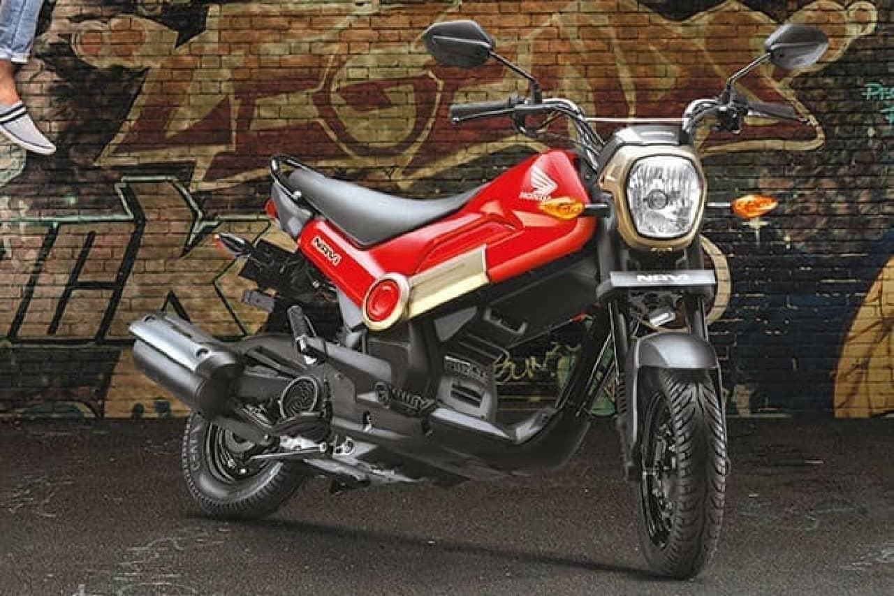 ホンダのインド製ミニバイク