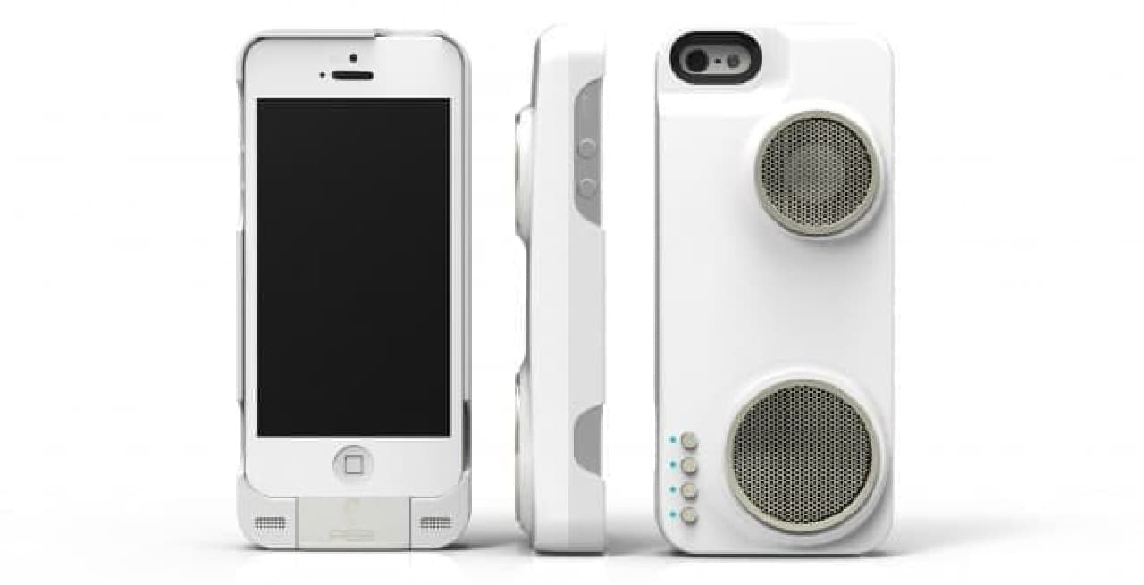 Hi-Fiスピーカー付きのiPhoneケース「Duo Slim」