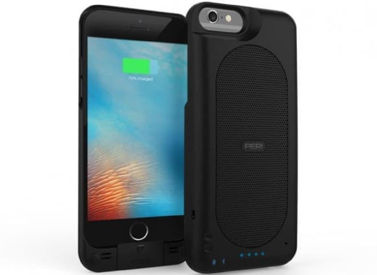 Hi-Fiスピーカーが付いたiPhoneケース「Duo Slim」