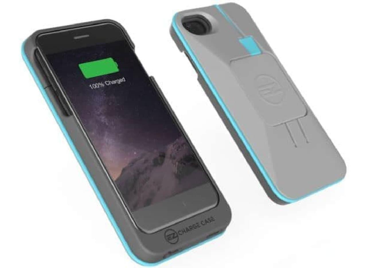 モバイルバッテリー機能付きiPhoneケース「EZ Charger Case Pro」