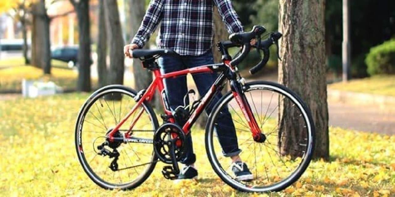 子ども向けの24インチ本格ロードバイクDOPPELGANGER「D40J-RD TARANIS Junior」