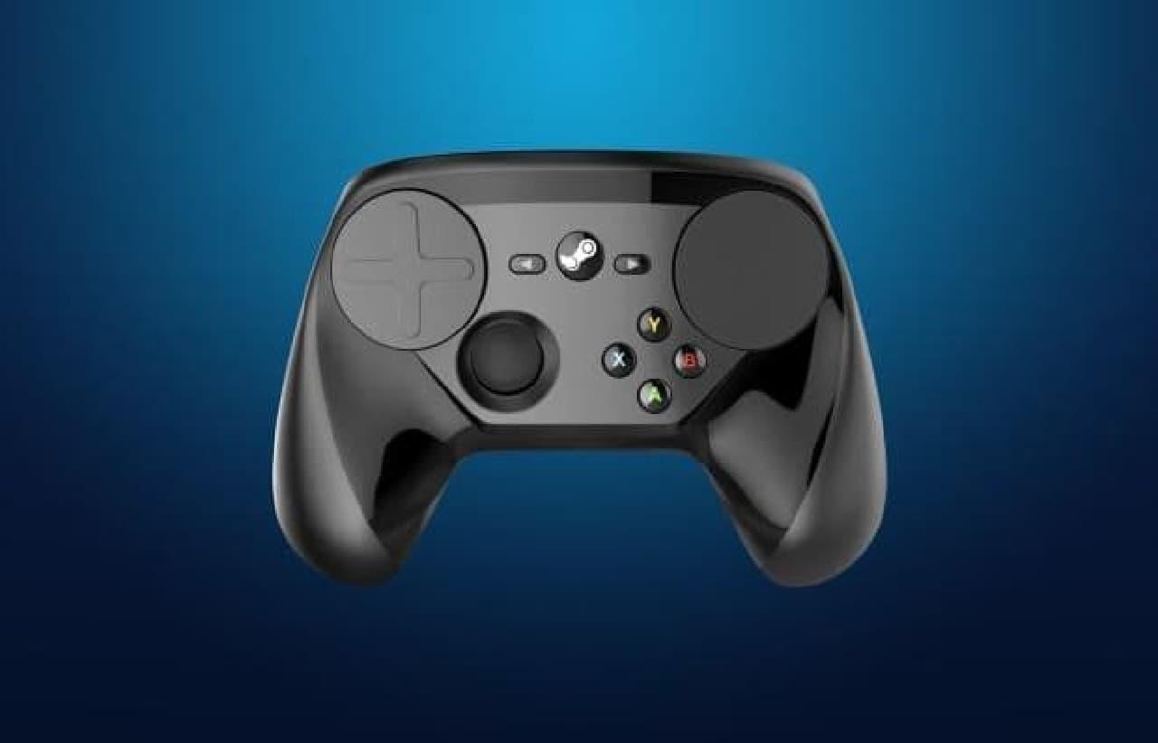 Steamコントローラーのイメージ