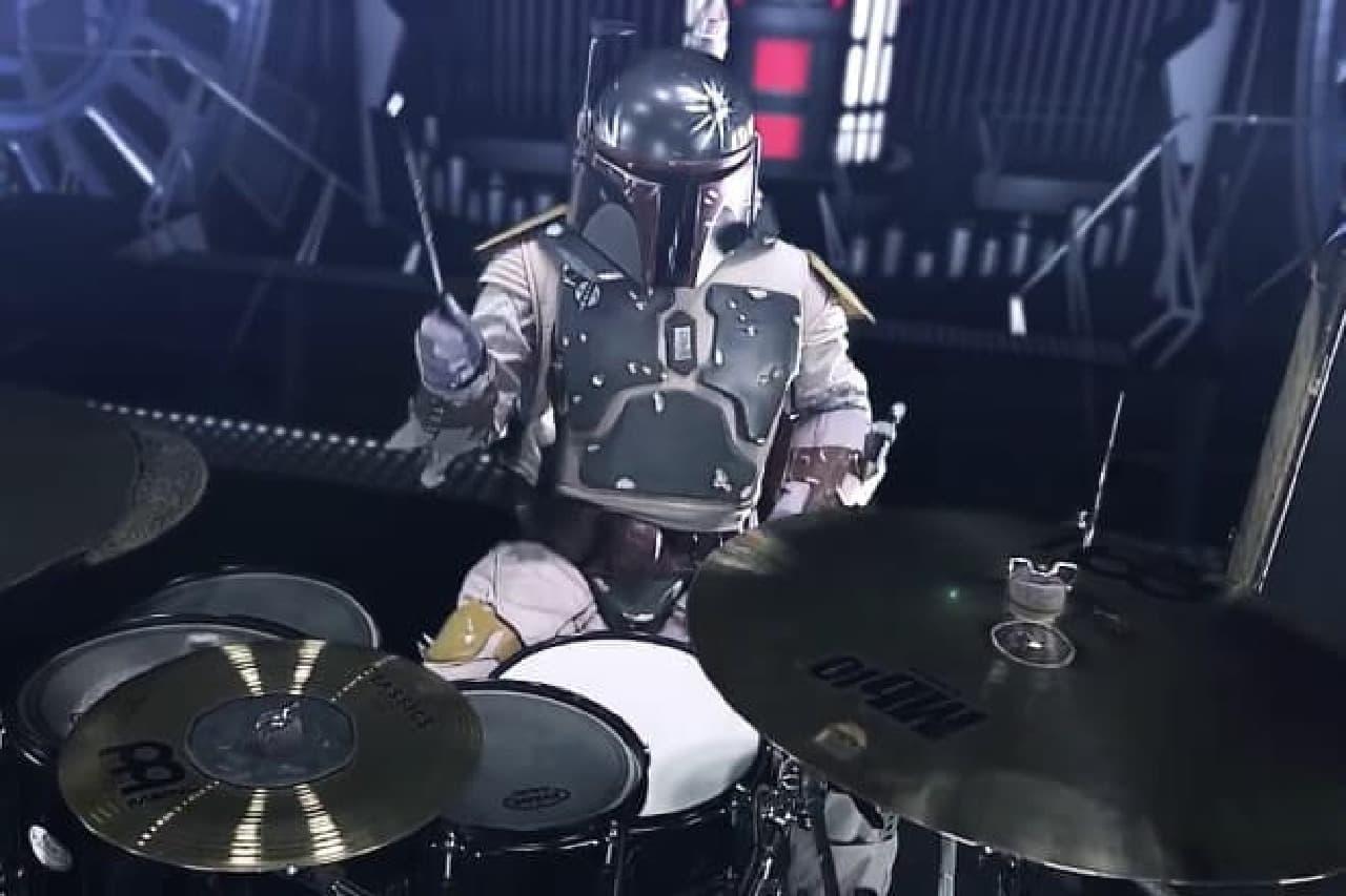 ボバ・フェットとドラム