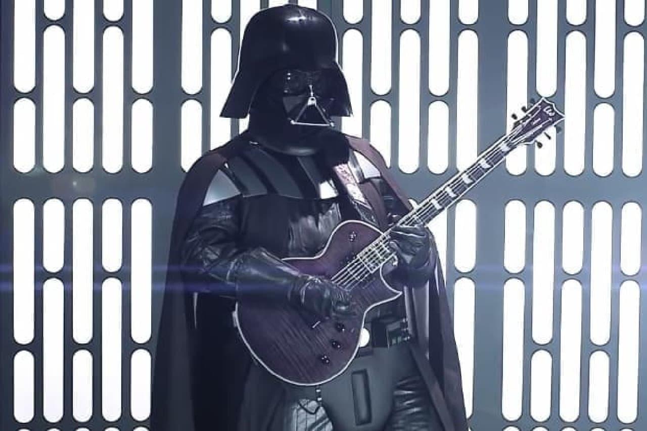 ダース・ベイダーとリードギター