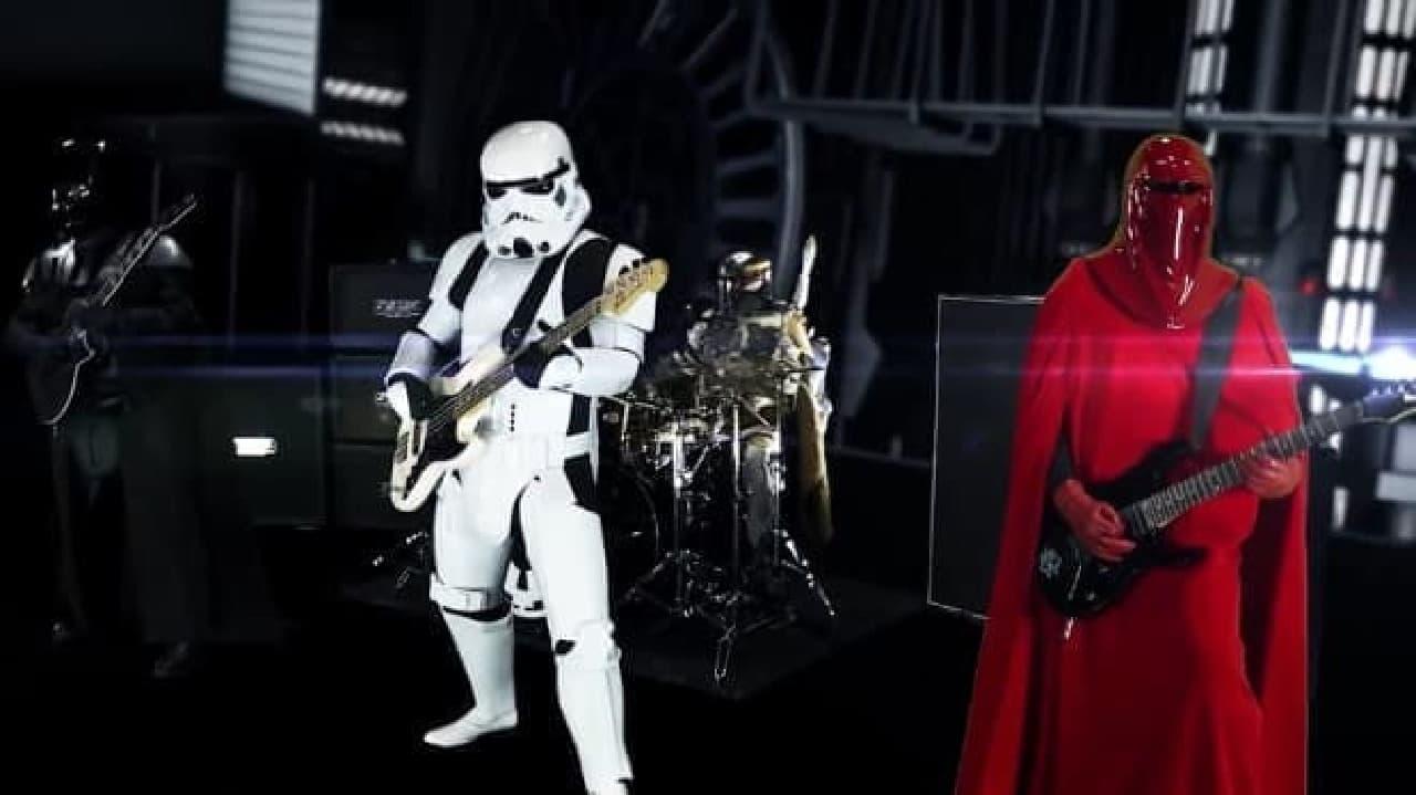スター・ウォーズのメタルバンド