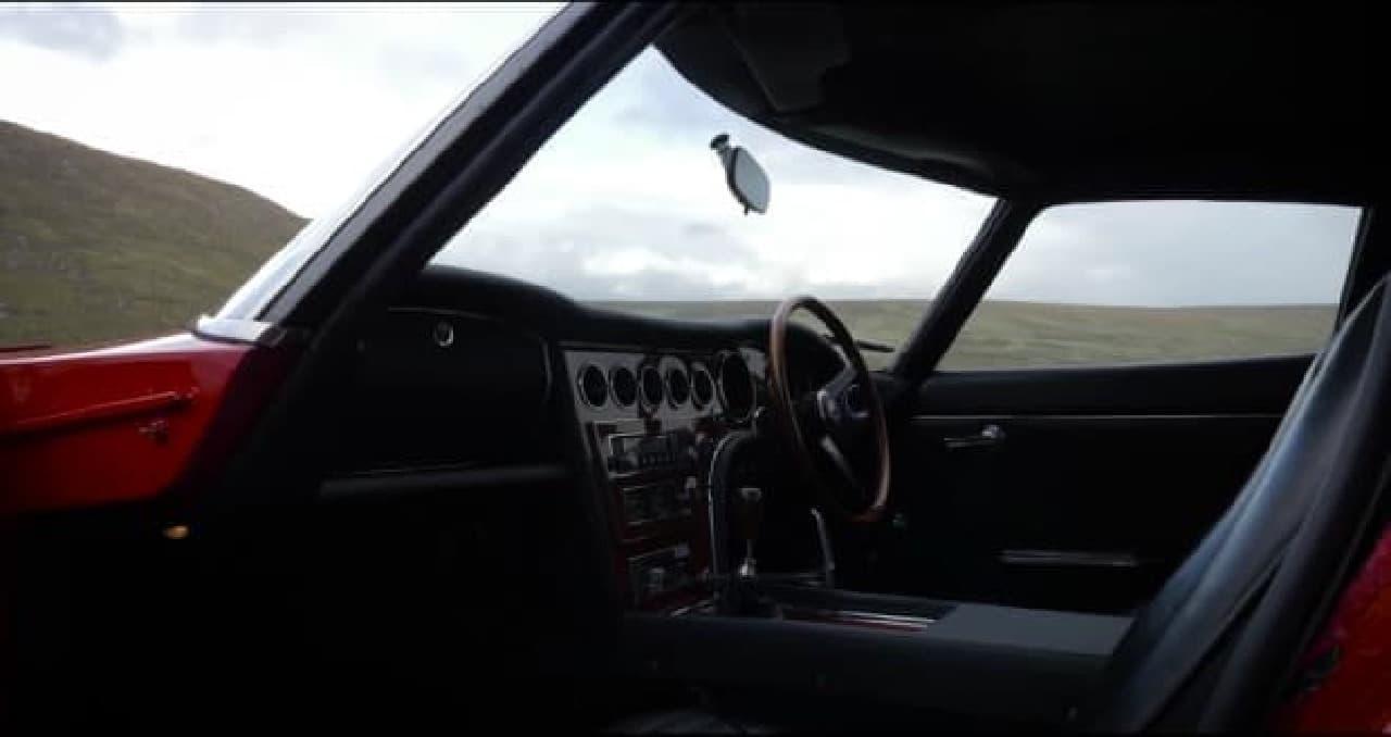 トヨタ2000GTの内装