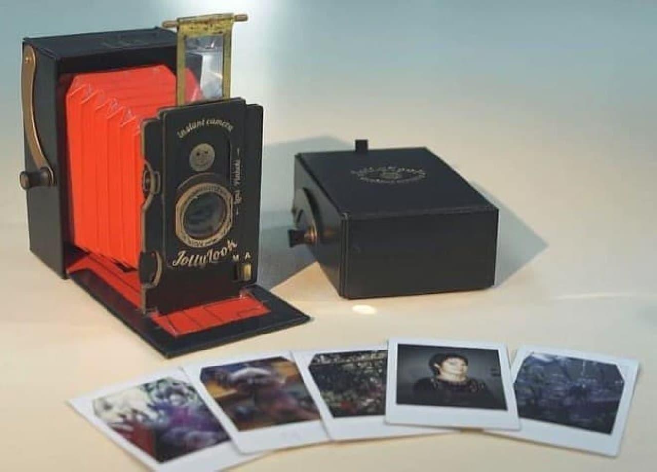 39ドルで買えるビンテージ風インスタントカメラ「Jollylook」