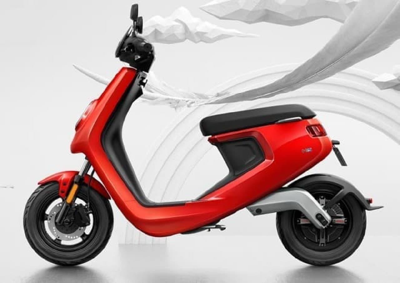 メイドインチャイナの電動バイク、Niu「M1」