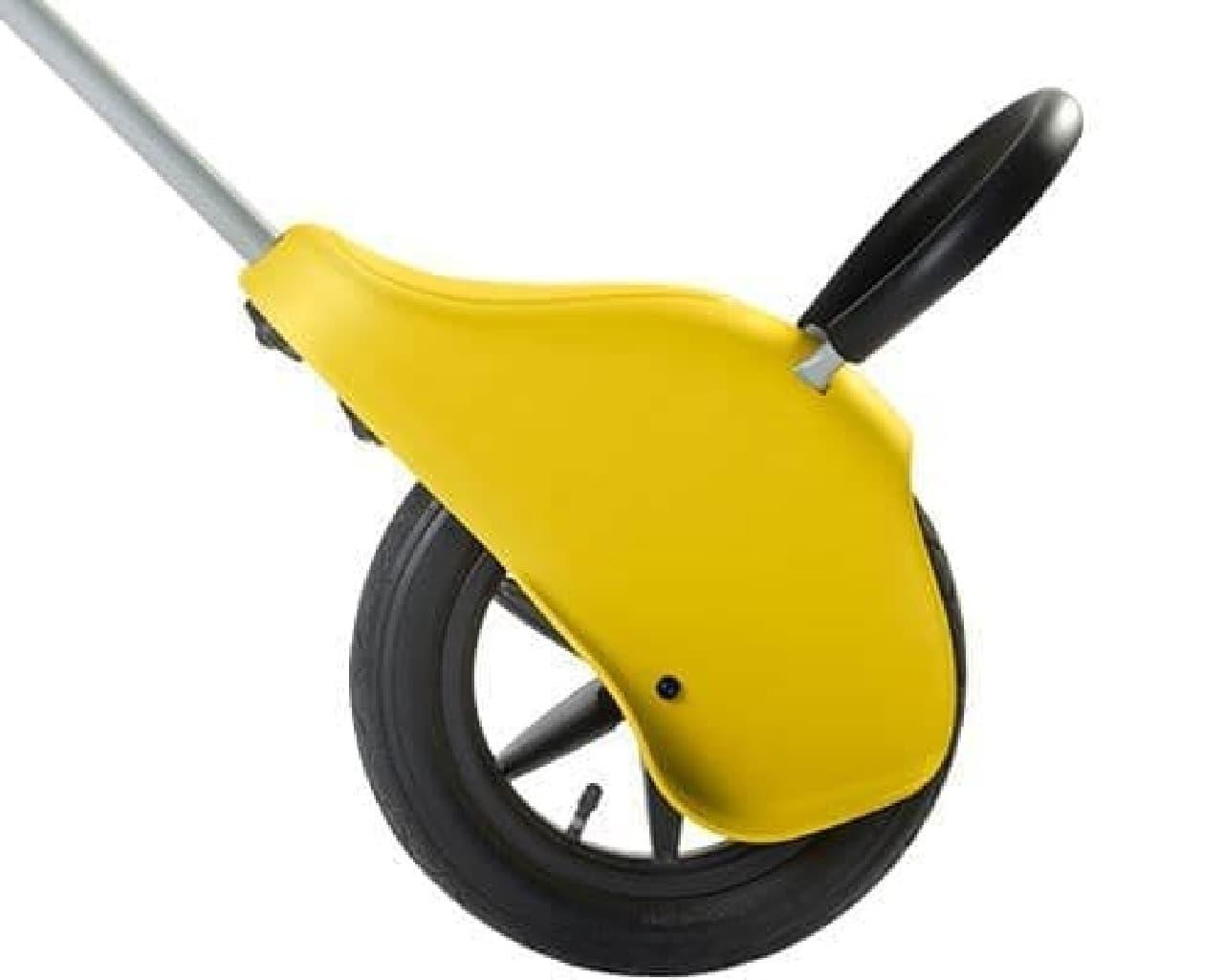 ベビーカーでもあり、自転車トレーニングマシンでもある「unirider」